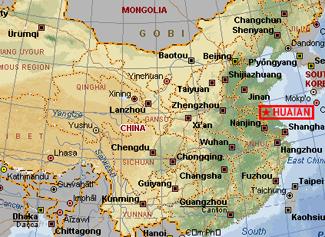 Huaian-Map